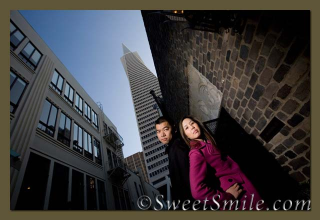 Jamie and Rays Engagement Portrait - San Francisco